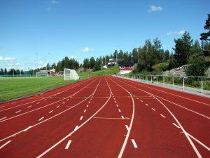 pista di atletica leggera